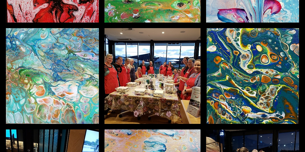 Dinmore Cottage - Paint Pouring & High Tea Experience (Afternoon)