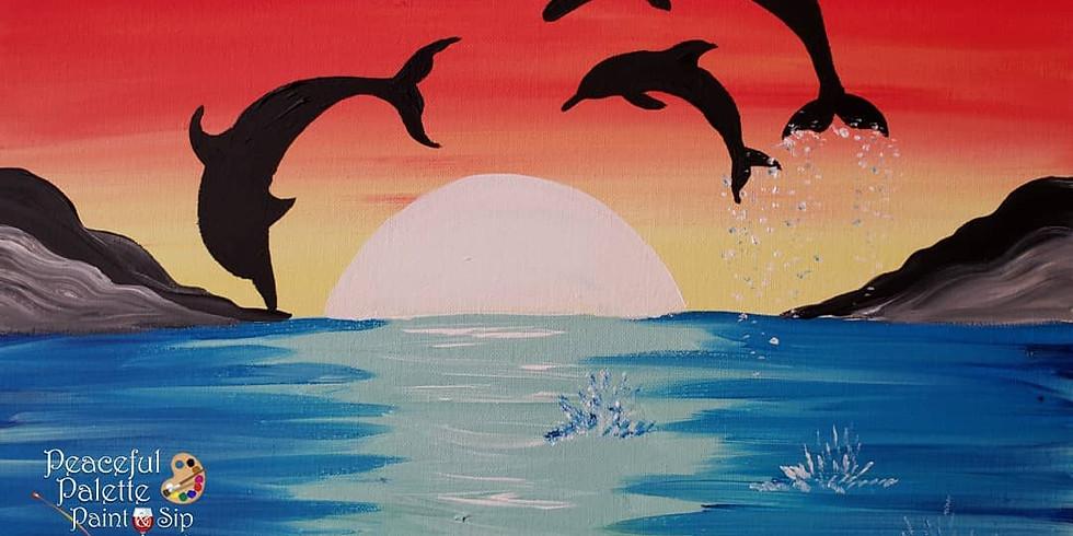 Scarborough 3eightnine cafe - Playful Dolphins
