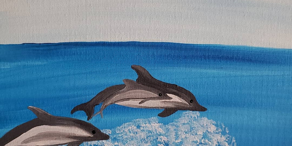 Scarborough 3eightnine cafe - Jumping Dolphins