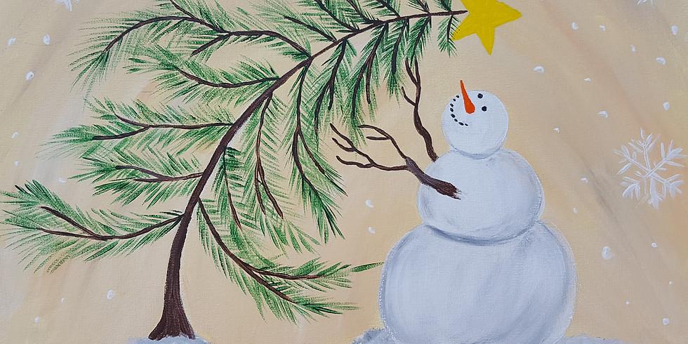 Scarborough 3eightnine cafe - Curious Snowman