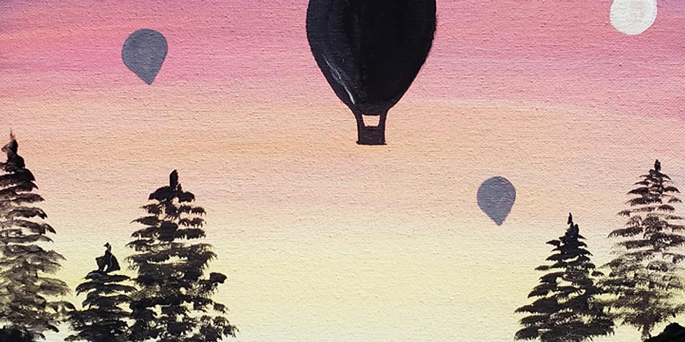 Scarborough 3eightnine cafe - Sunset Balloons