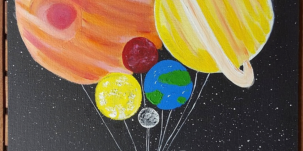 Pivet Cafe - Kids Class Planet Balloons