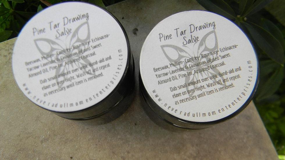 Pine Tar Drawing Salve