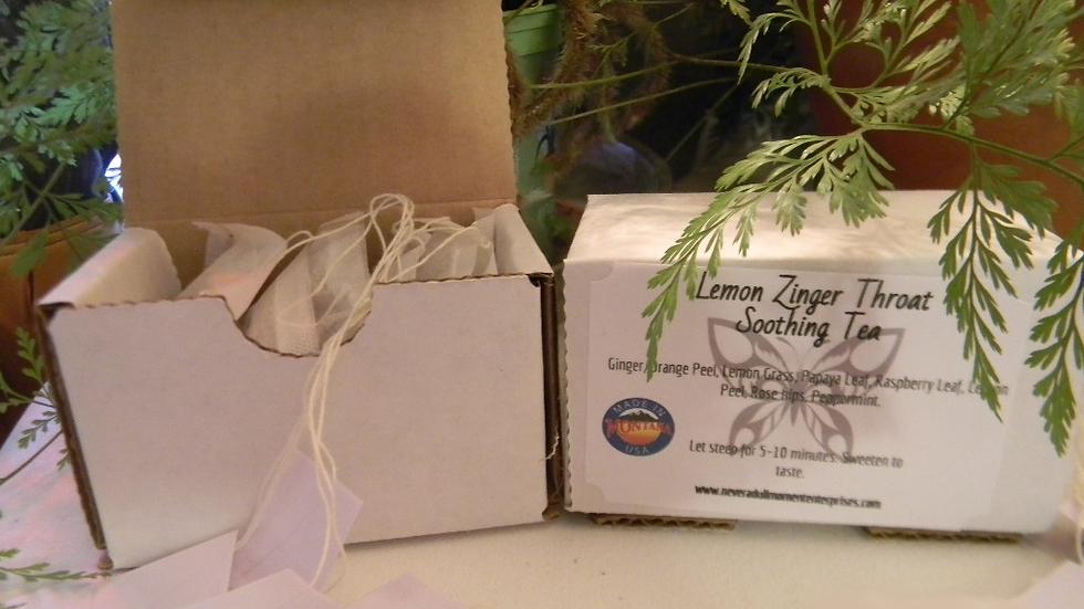 Lemon Zinger Throat Tea