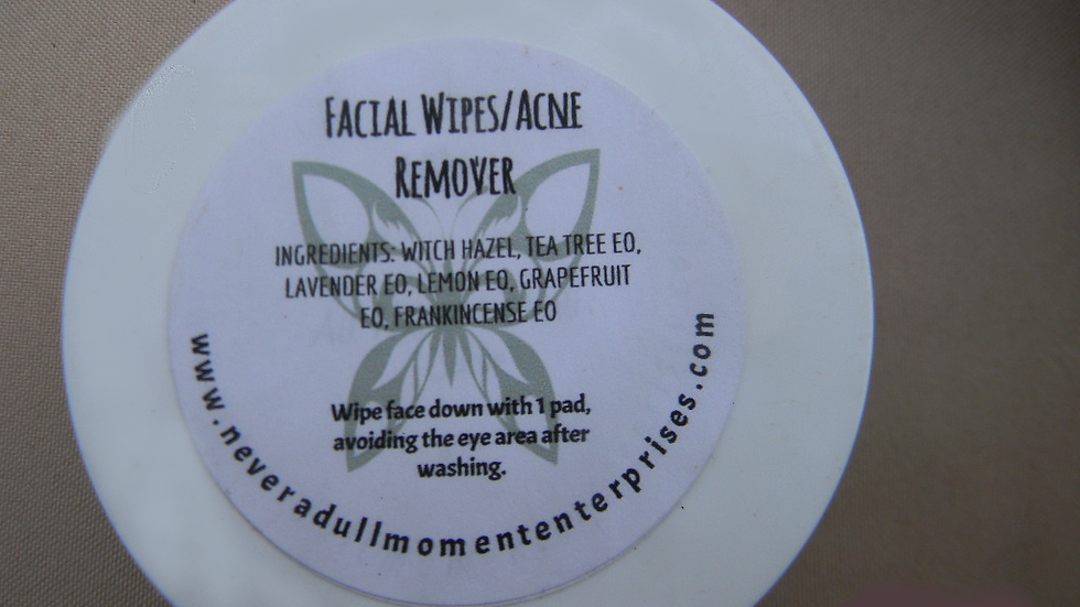 Facial Toner Wipes