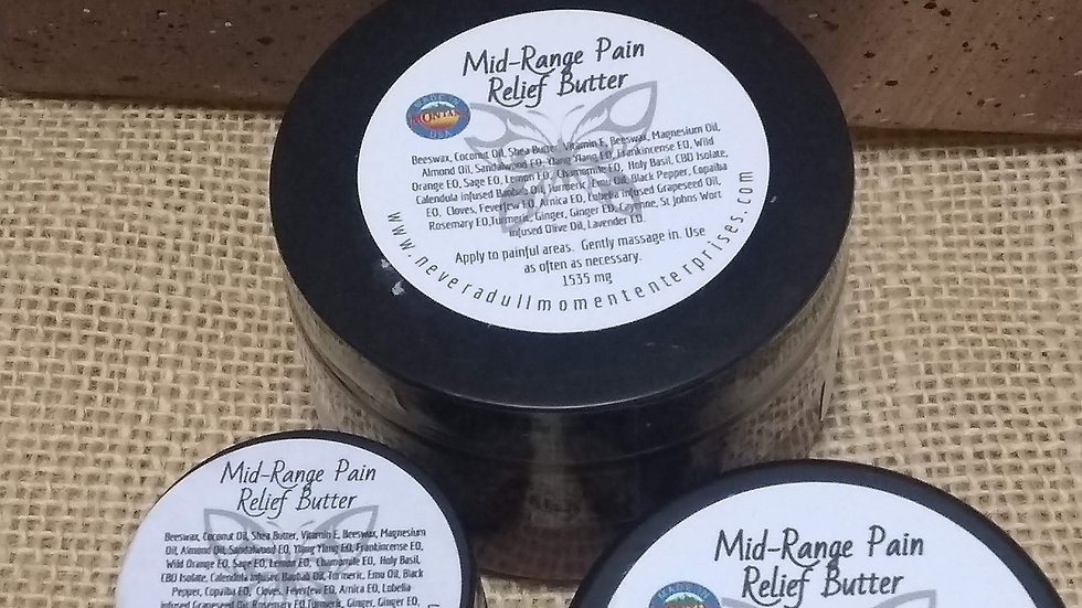 CBD Pain Relieving Salves