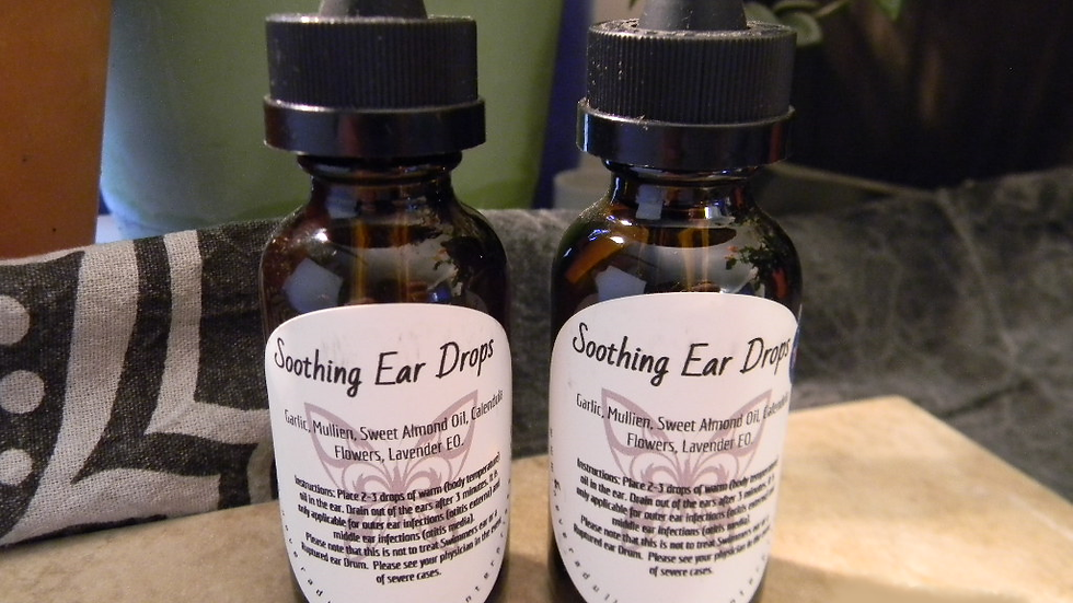 Soothing Ear Drops