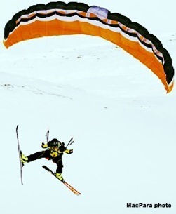 speedflying and speedriding courses in canada.