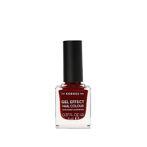 GEL EFFECT NAIL COLOUR 59 Wine Red