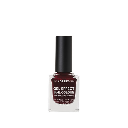 GEL EFFECT NAIL COLOUR 57 Burgundy Red