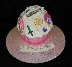 Girlie Minecraft BigTop Cupcake