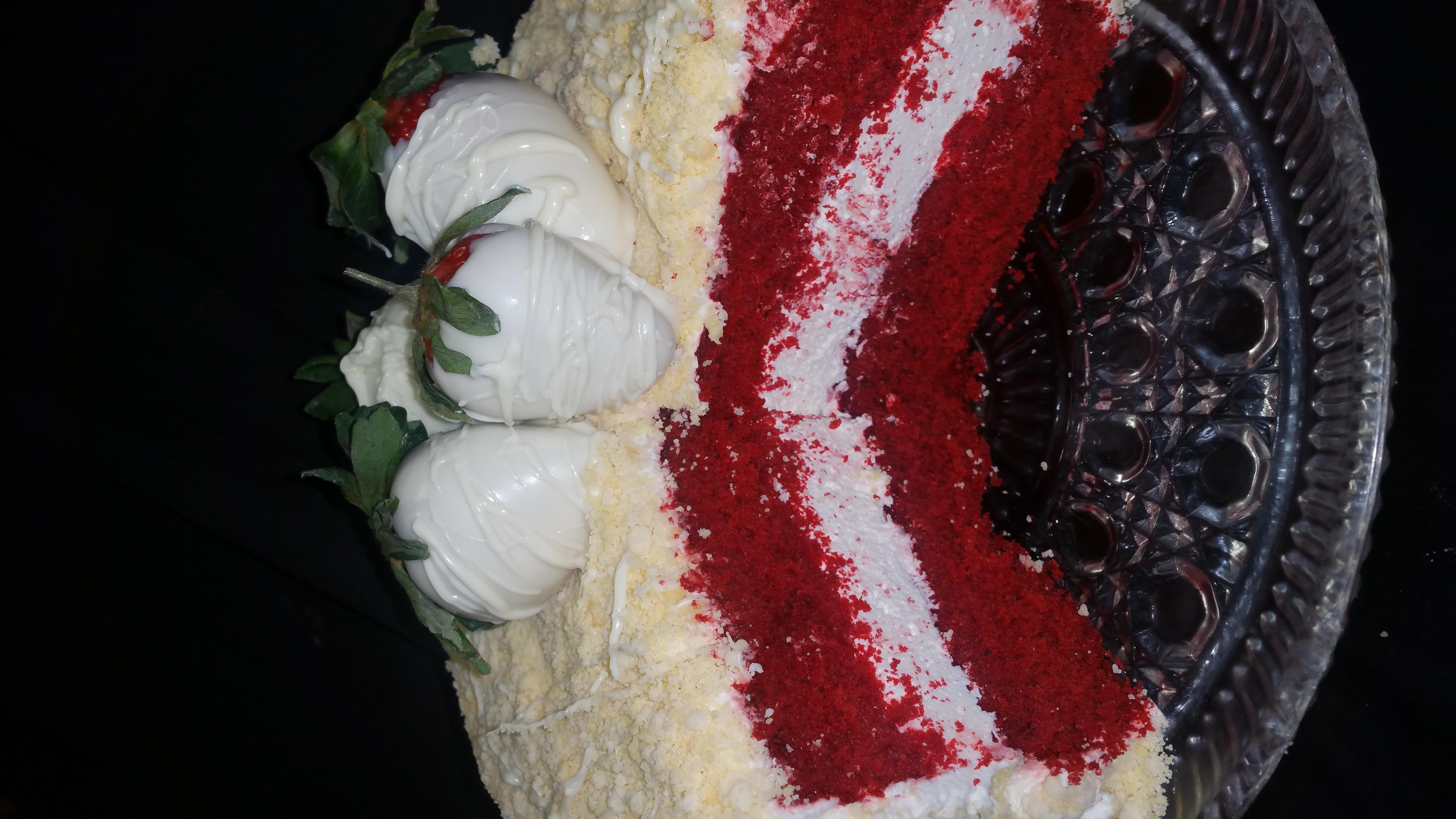 Red Velvet Cheesecake Crunch