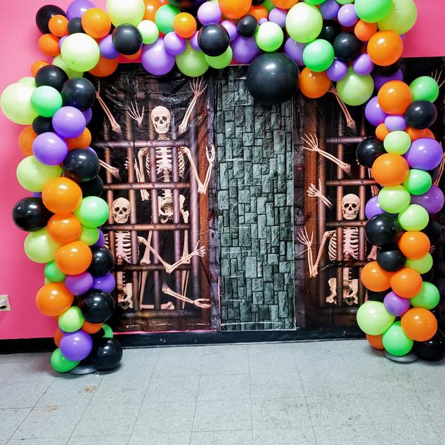 Balloon Columns & Backdrop
