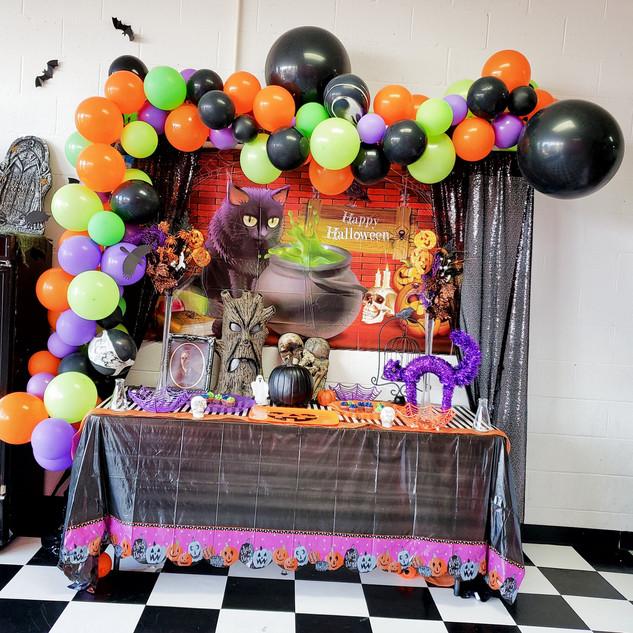 Halloween Set-Up