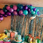 Mermaid Balloon Garland