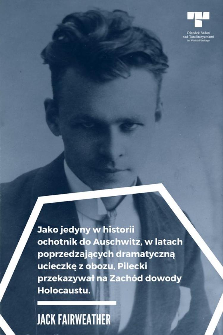 Rotmistrz kawalerii Wojska Polskiego Witold Pilecki