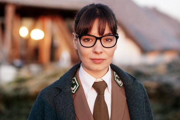"""Marie Carrour w serialu fabularnym """"Leśniczówka"""""""