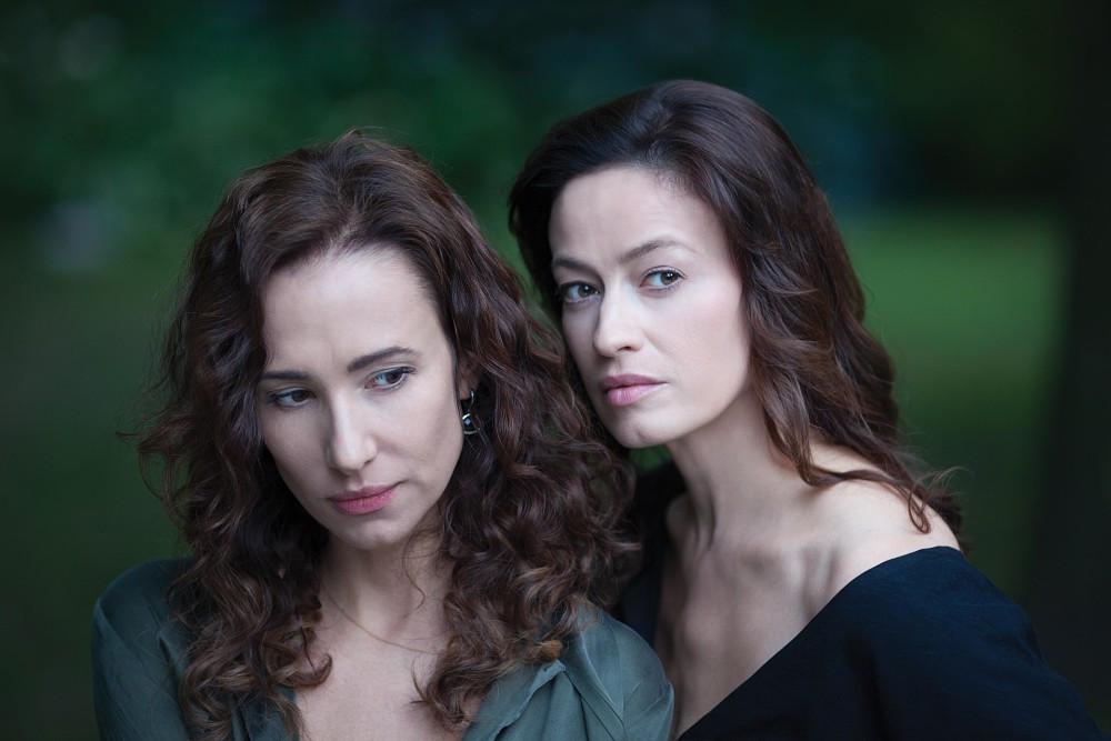 Aleksandra Popławska i Magdalena Różczka