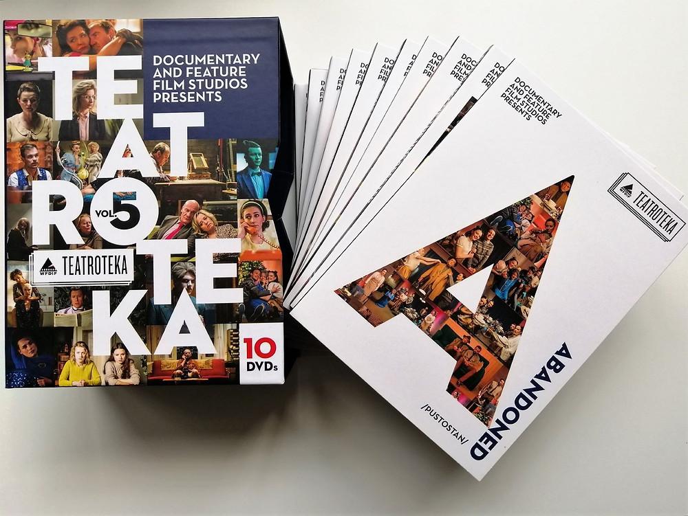 Jest już dostępna 5. edycja wydawnictwa DVD ze spektaklami z cyklu TEATROTEKA