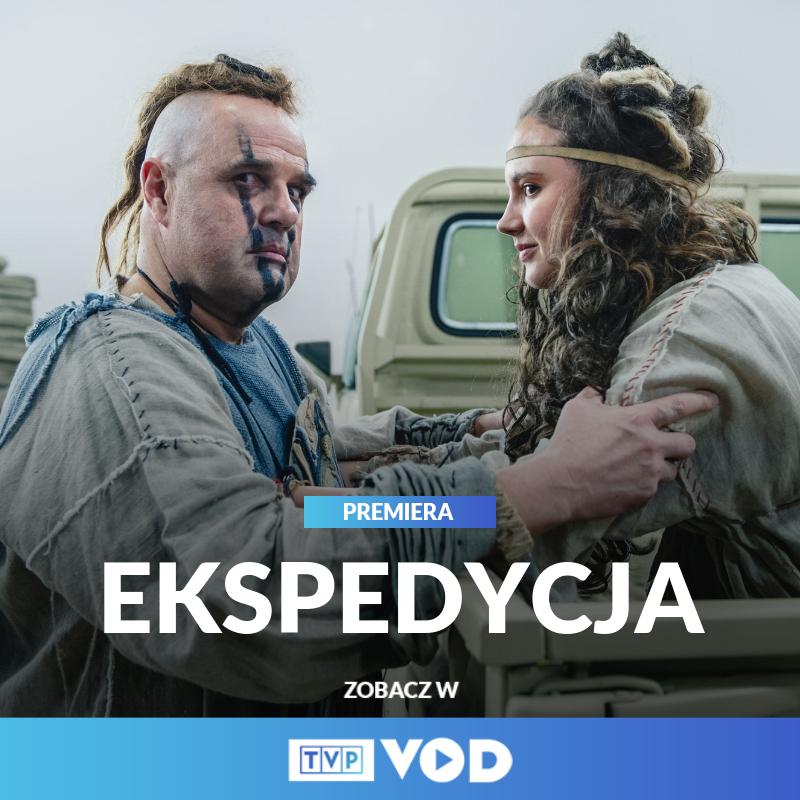"""Martyna Byczkowska na planie zdjęciowym """"Ekspedycji"""""""