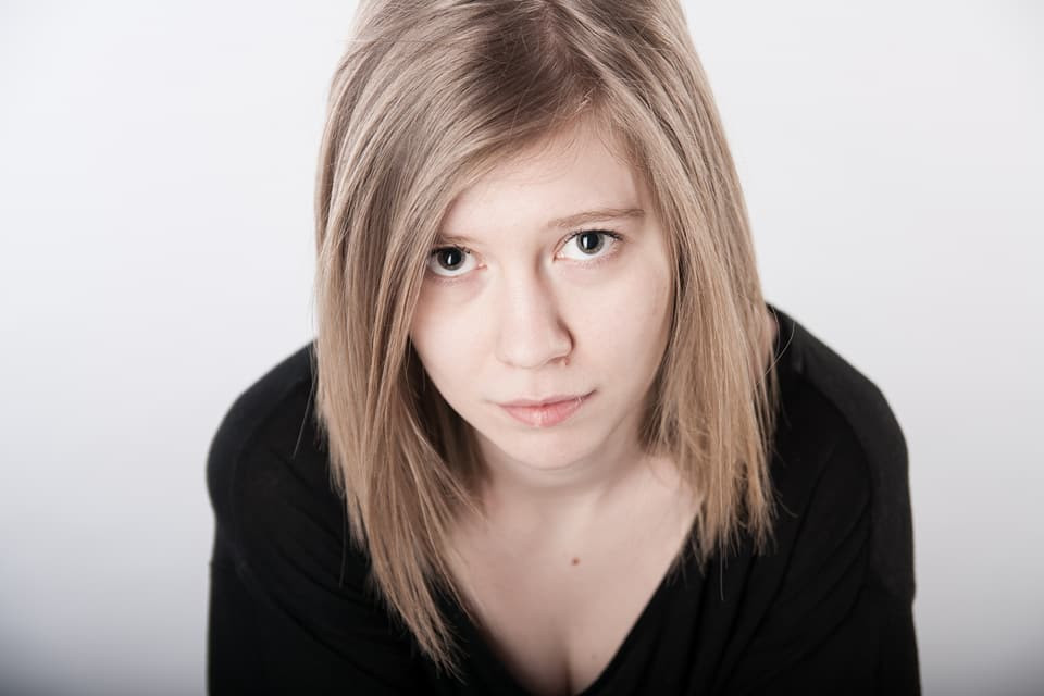 Aktorka Malwina Laska