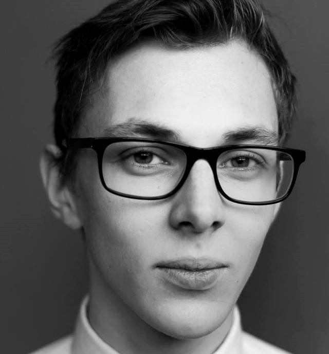 Aktor Marcin Lipski