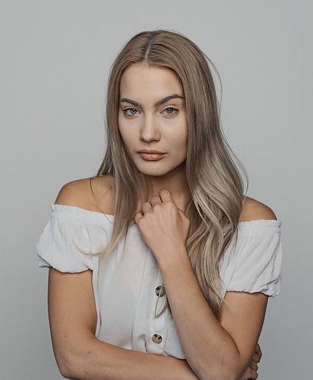 Aktorka Olga Rayska