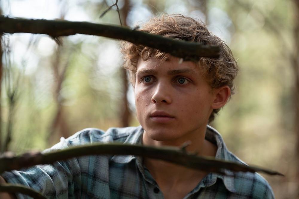 """Aktor Hubert Miłkowski w serialu Netflix """"W głębi lasu"""""""