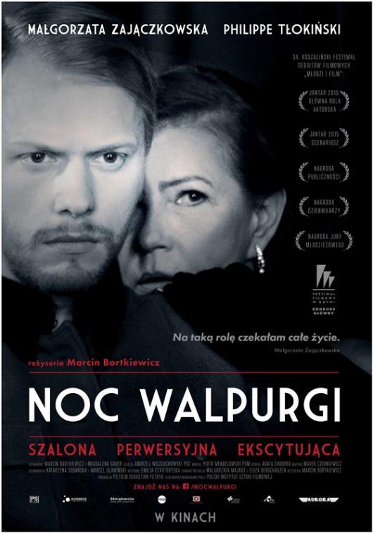 """Afisz filmu fabularnego """"Noc Walpurgi"""" w reżyserii Marcina Bortkiewicza"""