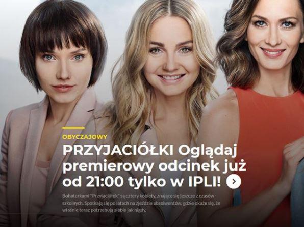 """Serial fabularny """"Przyjaciółki"""" Telewizji POLSAT w czwartki o godzinie 21:10"""