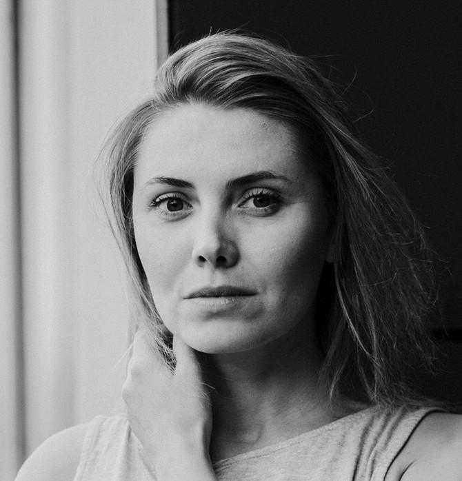 Katarzyna Zawiślak z Dorotą Masłowską