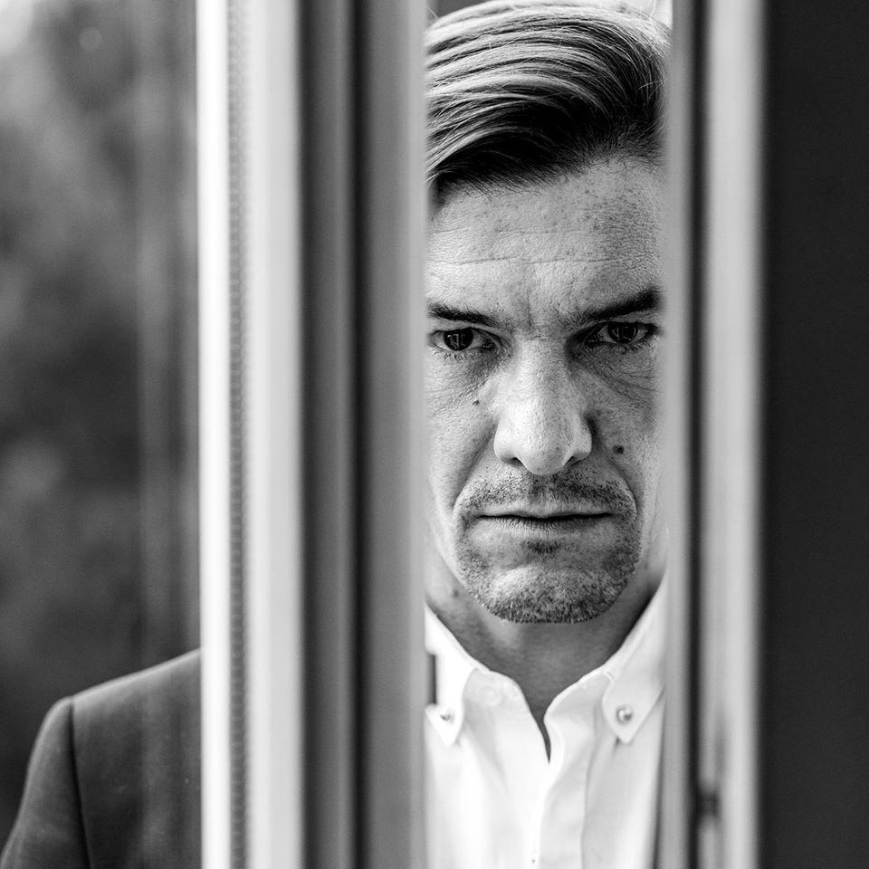 Aktor Krzysztof Plewako-Szczerbiński