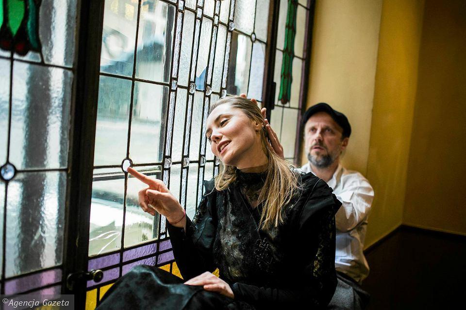 Katarzyna Zawiślak i Łukasz Simlat