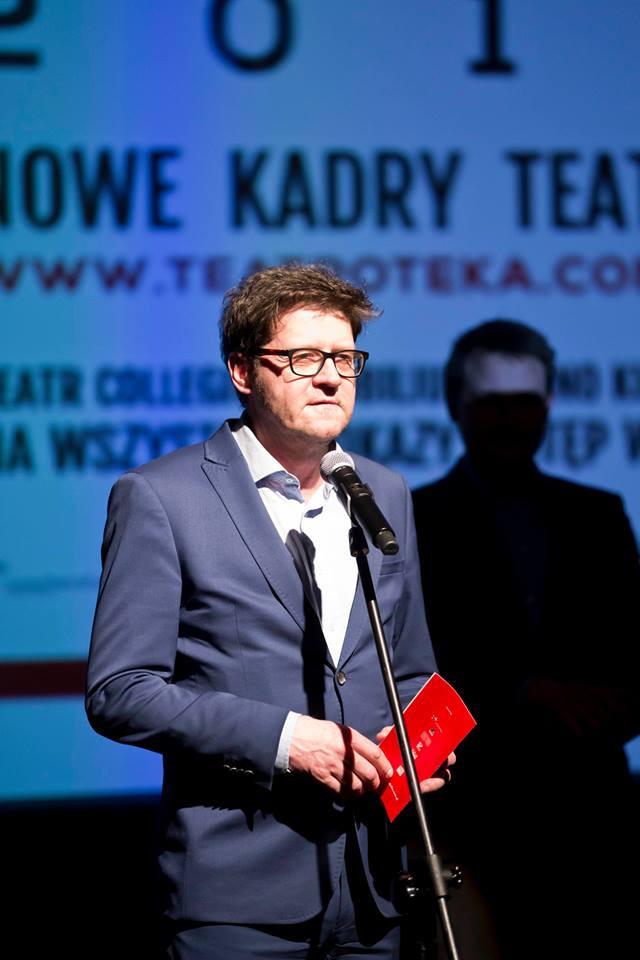 Rektor Akademii Teatralnej Wojciech Malajkat na festiwalu TEATROTEKA FEST 2018