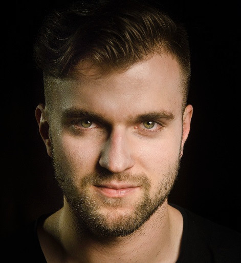 Aktor Michał Juraszek