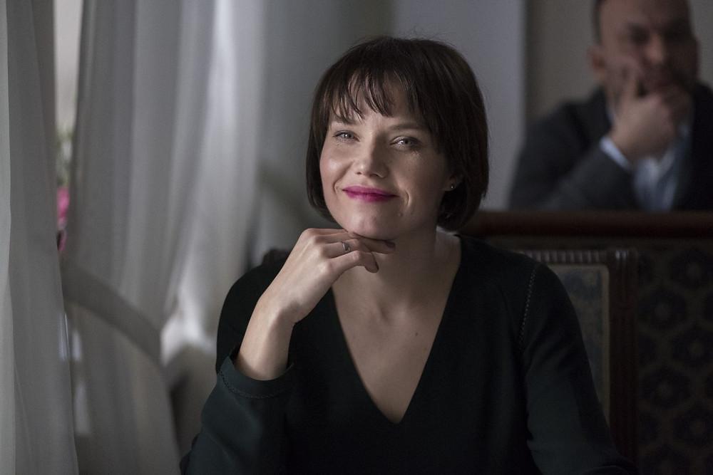 """Roma Gąsiorowska jako """"Wika"""" w serialu fabularnym """"Przyjaciółki"""""""