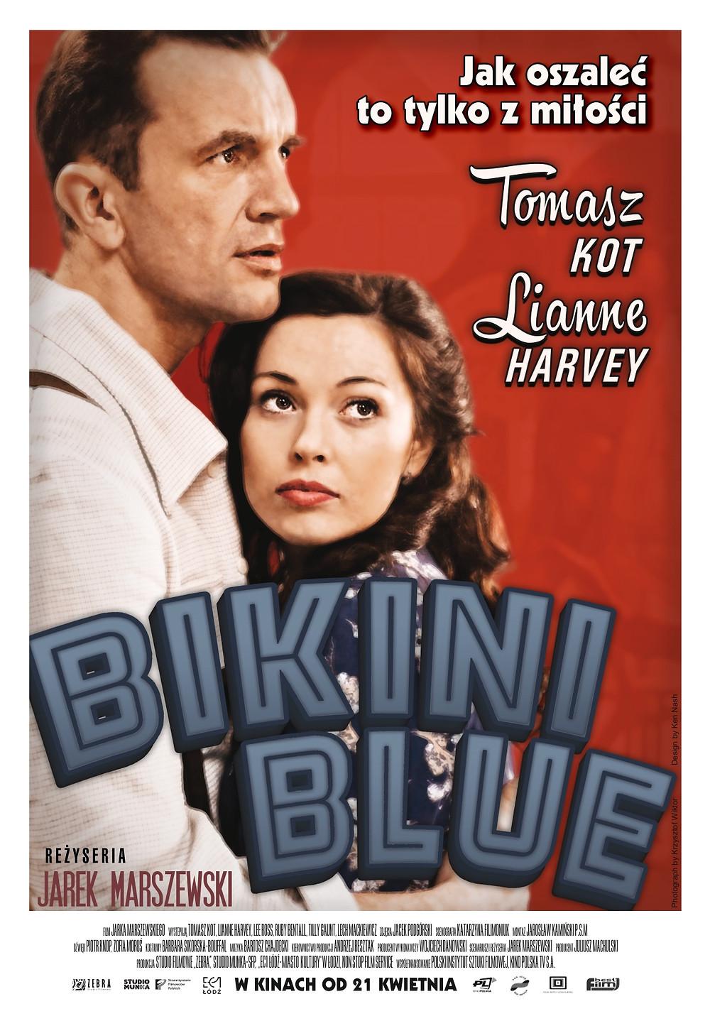 Plakat filmu fabularnego BIKINI BLUE Jarka Marszewskiego