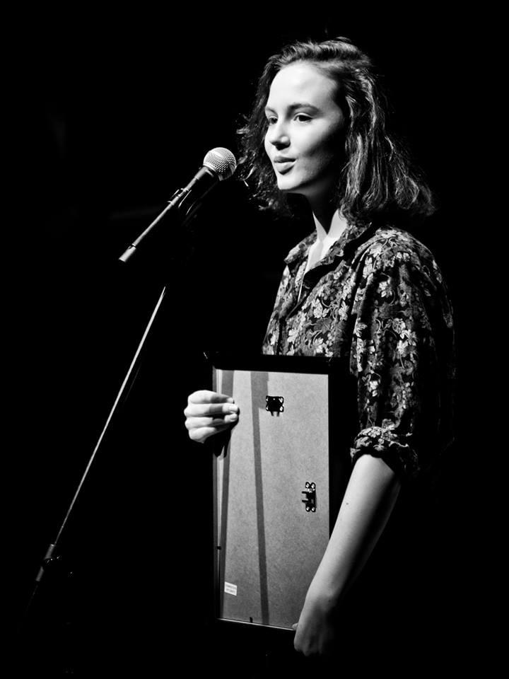 Martyna Byczkowska z Nagrodą Rektora Akademii Teatralnej w Warszawie