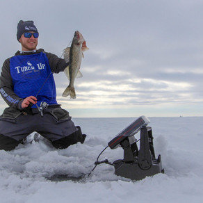 Suspended Walleye? You Bet!