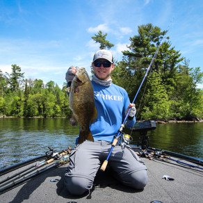 Finesse Fishing Smallmouth Bass