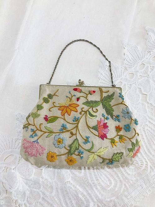 Vintage Fragrant Garden Purse