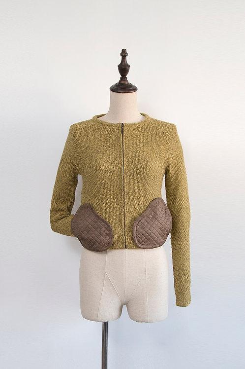 Mustard Pockets Cardigan
