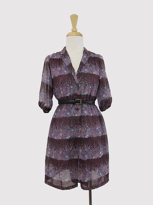 Vintage Lilac Sheer Dress