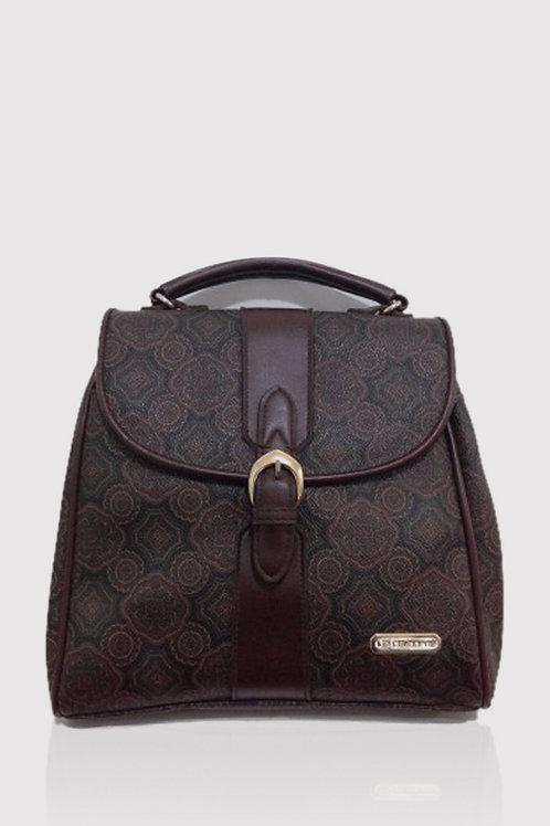 Vintage Baroque Mosaic Shoulder Bag