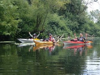 Row, Row, Row yer boat...