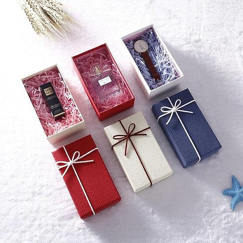 Plain Gift Box with Ribbon