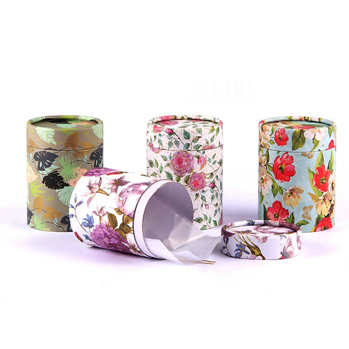 Flower Pattern Gift Box