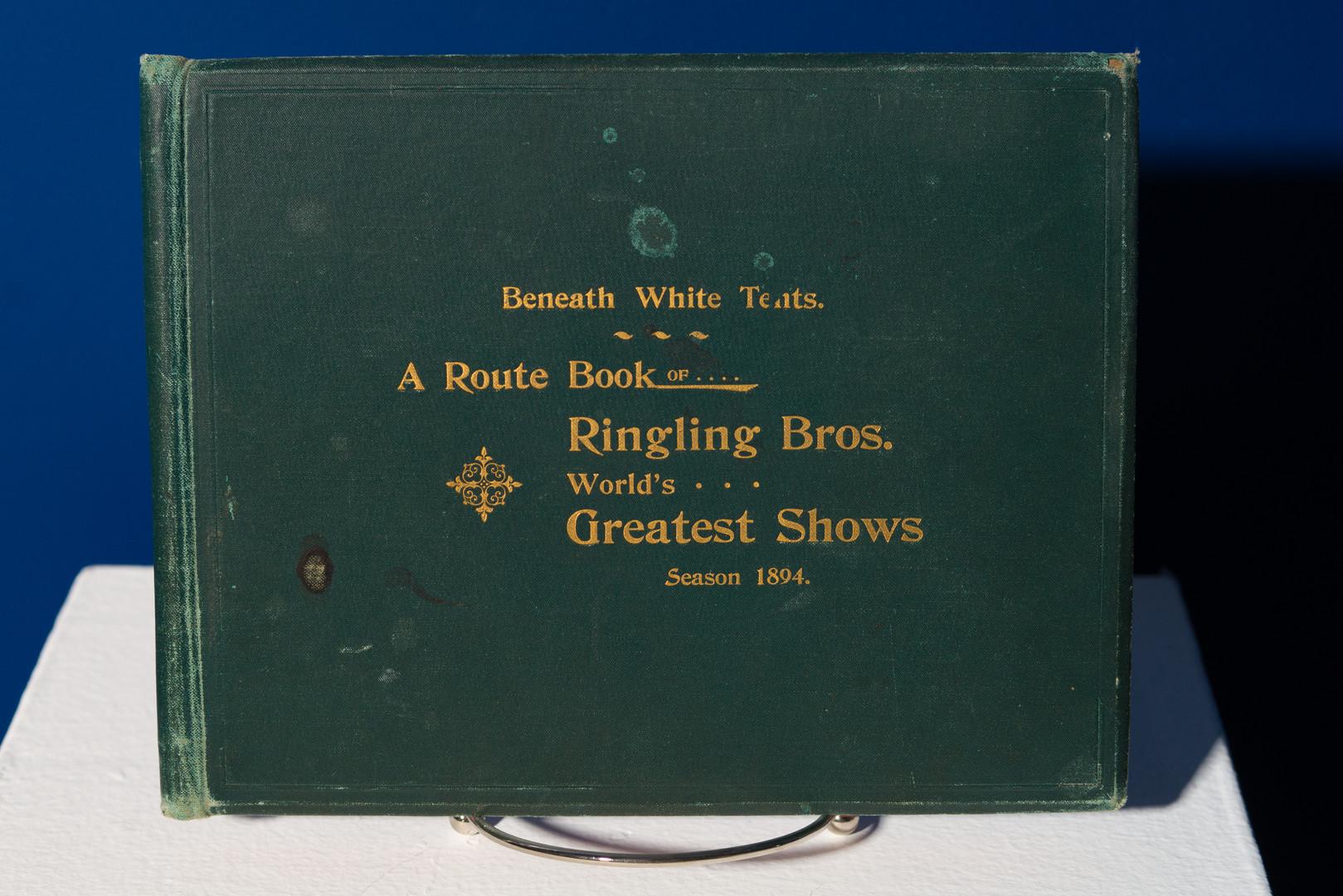 Route Book, 1894