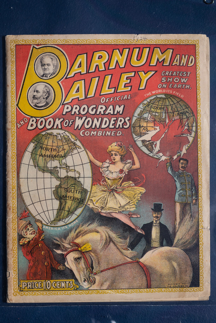 Barnum and Bailey Official Program and Book of Wonders, 1904