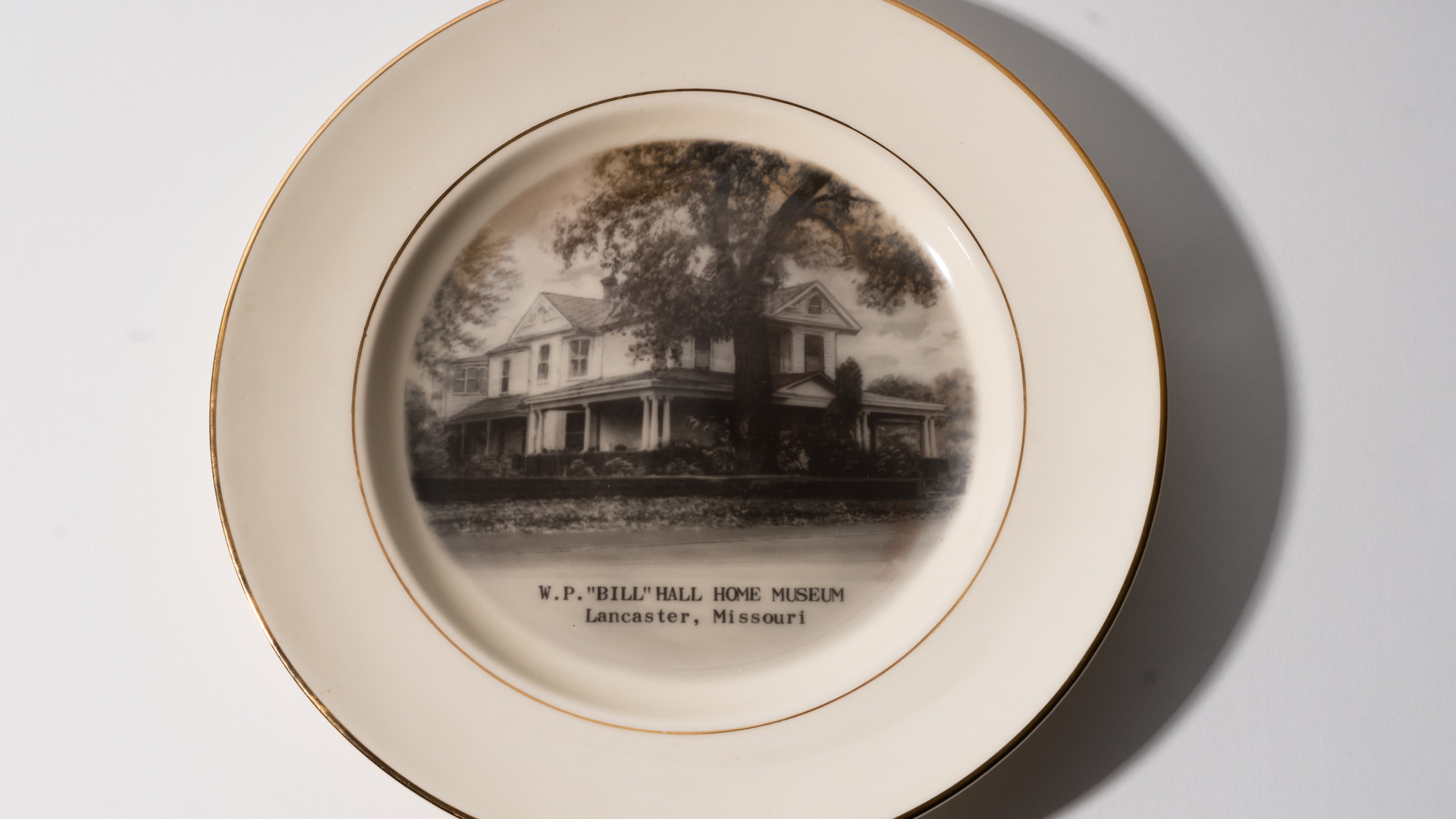 Bill Hall Plate, date unkown